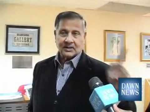 Ex.Army Chief Gen.Aslam Beg losses temper on a question posed by Dawn News ,journalist Azaz Syed
