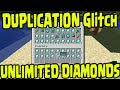 Minecraft PS3, PS4, Xbox One, Wii U - DUPLICATION UNLIMITED DIAMONDS GLITCH! Title Update TU25/TU26