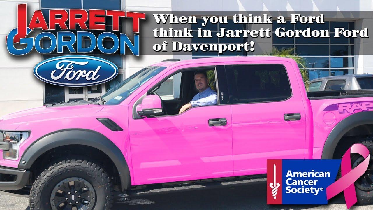 Jarrett Gordon Ford Of Davenport Breast Cancer Youtube