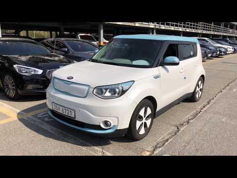 Kia Soul EV Electric Car -  Пригон авто из Южной Кореи