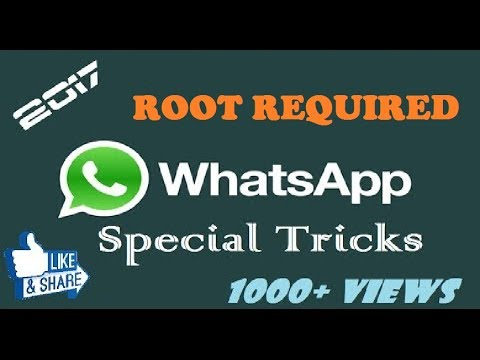 WhatsApp special tricks using WA tweaks   ROOT required