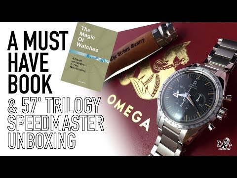 Omega Speedmaster 38.6mm 1957 Unboxing & The Must Have Book For Newcomers & Enthusiasts On Watches