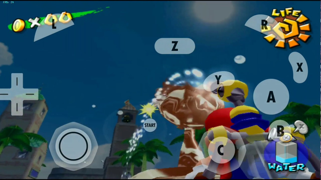 Super Mario Sunshine Android 30FPS | Dolphin emulator | Configuration |  download links