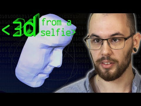 3D Model from a Selfie - Computerphile