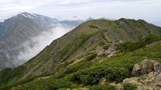 荒川三山 ~ 赤石岳 ( 2泊3日の山旅 )