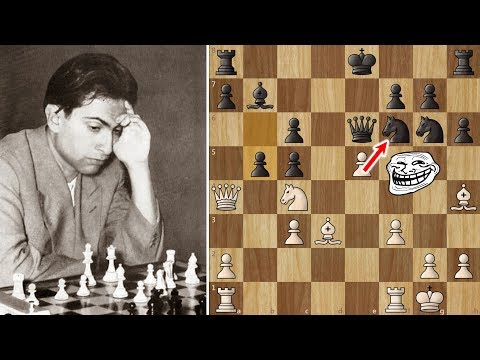 Mikhail Tal gets a KISS for a Brilliant Move! – Misha Impossible