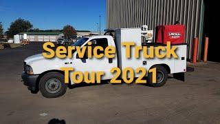 Service Truck Tour of a Fleet Mechanic 2021