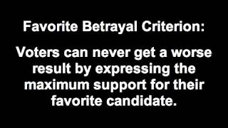 Favorite Betrayal in Plurality and Instant Runoff Voting