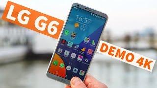 LG G6 come registra in 4K ULTRA HD con la dual-cam da 13 MP