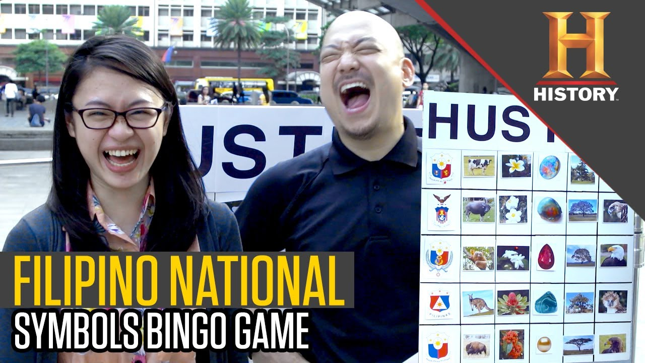 Philippines National Symbols Bingo The History Hustle Youtube