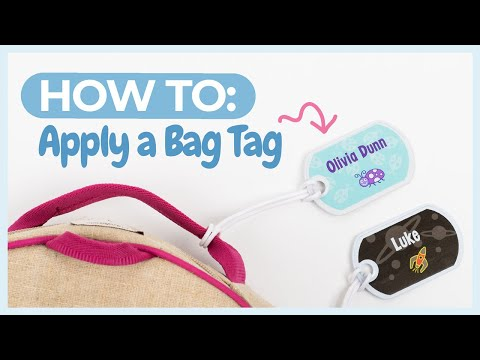 Mabel's Labels Bag Tags How-to