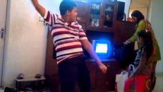 Aayush Funny dance - Crockroach / Mitthun / Salman / etc
