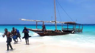 SHIPWRECKED IN ZANZIBAR (NAKUPENDA BEACH)