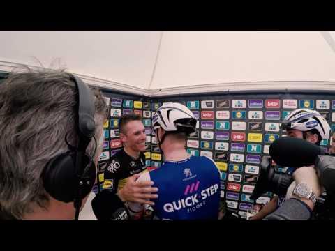 Ronde van Vlaanderen 2017 - Philippe Gilbert Celebration