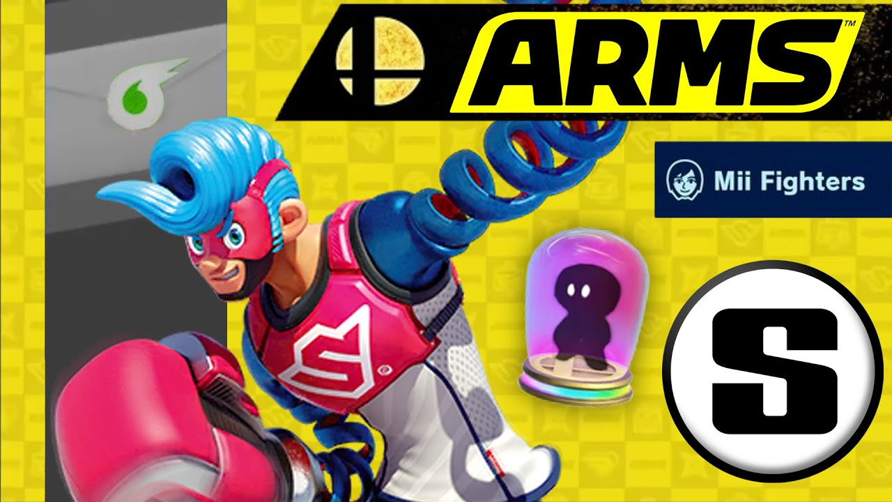 How an ARMS Character Could Change Smash DLC Forever - Stabilize