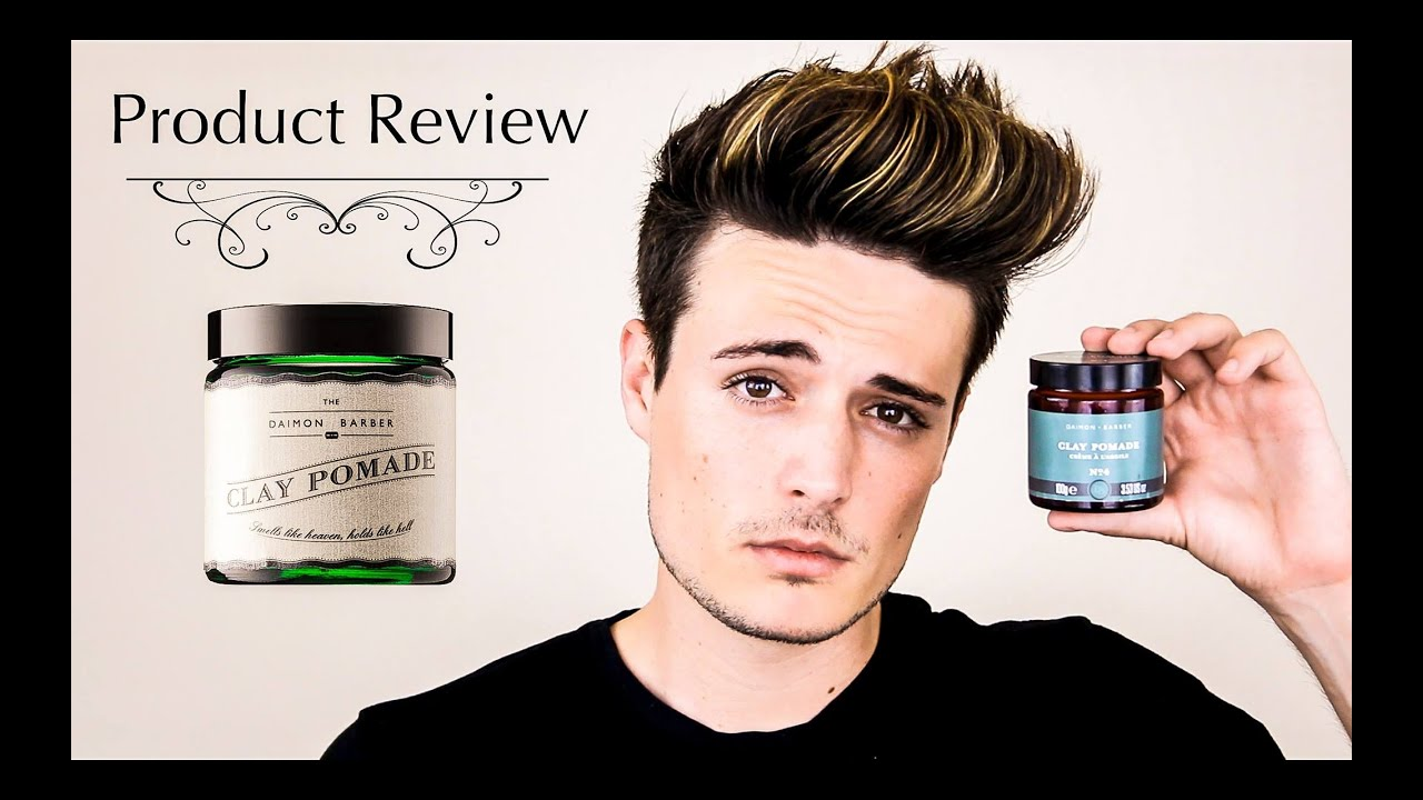 best mens hair styling product mens hair daimon barber clay pomade review textured 4149