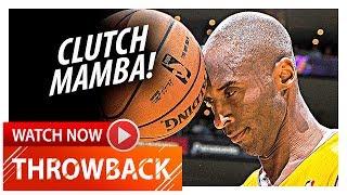 Throwback: Kobe Bryant UNREAL Highlights vs Raptors (2013.03.08) - 41 Pts, CLUTCH MAMBA!