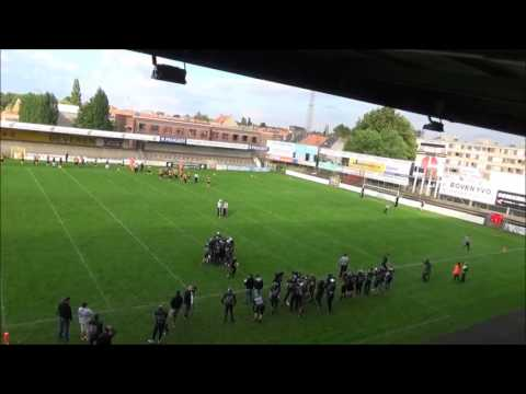 Belgian Bowl 29 - Ostend Pirates vs Brussels Black Angels - Q2