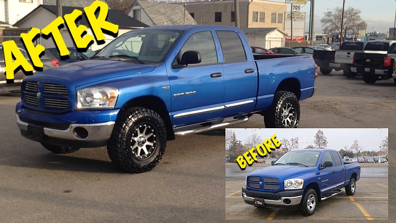 Saskatchewan Lifted Trucks 2007 Dodge Ram 1500 Custom Trucks In