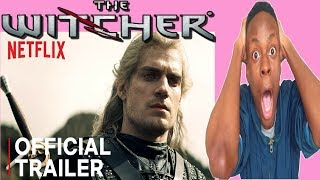 THE WITCHER | MAIN TRAILER | NETFLIX | REACTION