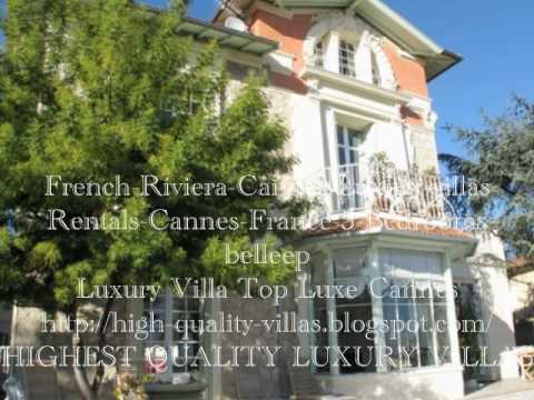 Luxury Cannes Villa Rentals
