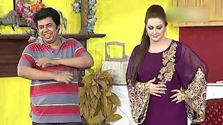 Best Of Agha Majid and Nargis New Pakistani Stage Drama Full Comedy Clip