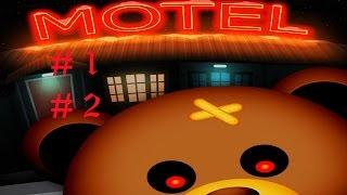 Мотель медведей. Игра страшилка. Выжить среди мишек.1 и 2 ночь. Bear haven motel.