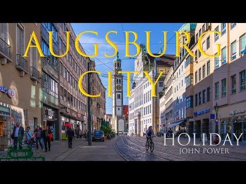 Augsburg Stadt (GH4 Lumix in UHD) Innenstadt St.Ulrich-Dom