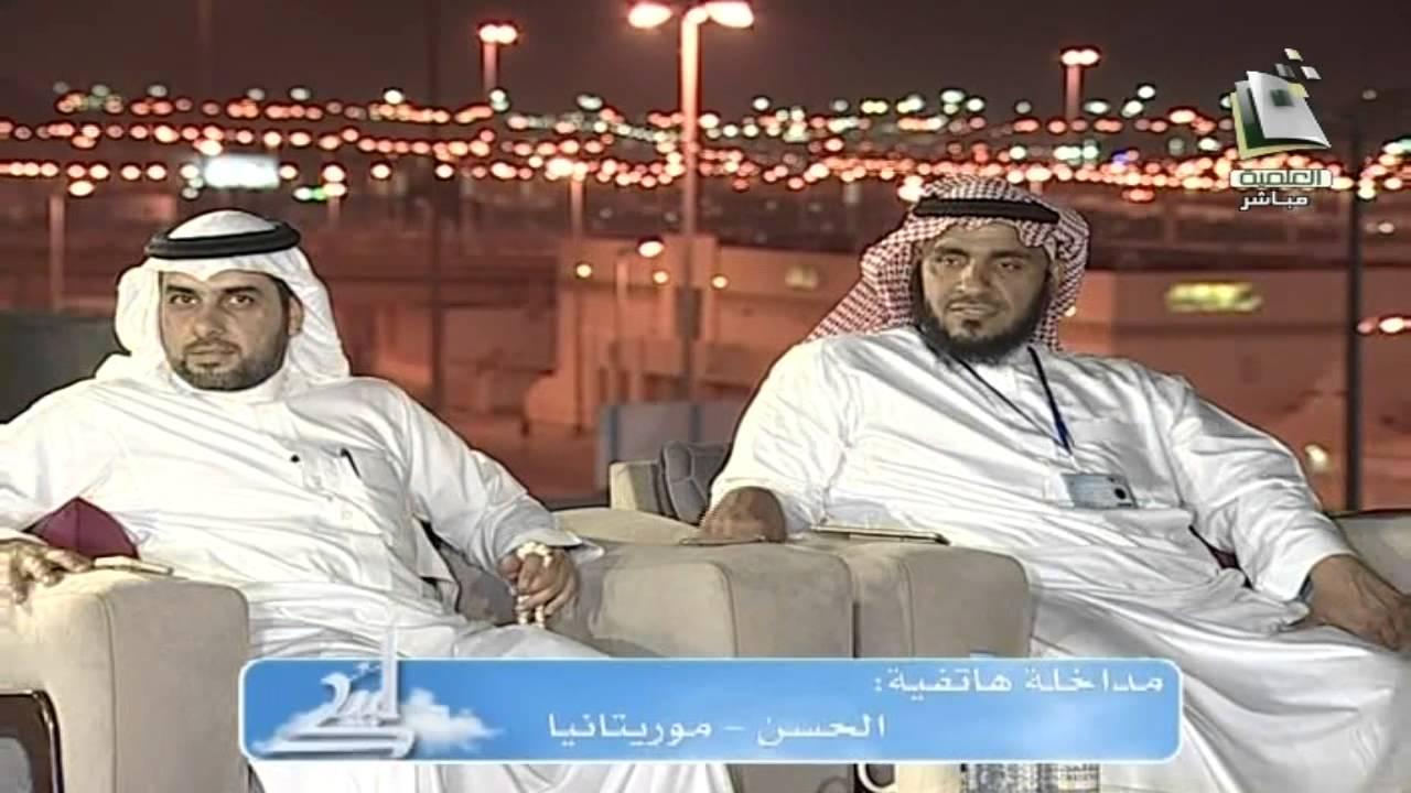 """العشاء ج1 : استضافة د. محمد الشنقيطي وحديث بعنوان """"ولا ..."""