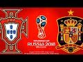 Portugal vs. Spain | FIFA World Cup Russia 2018 | PES 2018