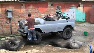 Переделка УАЗ 469