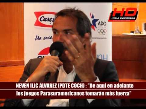 Neven Ilic En Hola Deportes analiza Santiago 2014