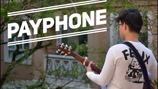 Payphone - Maroon 5 - Guitar Fingerstyle Cover