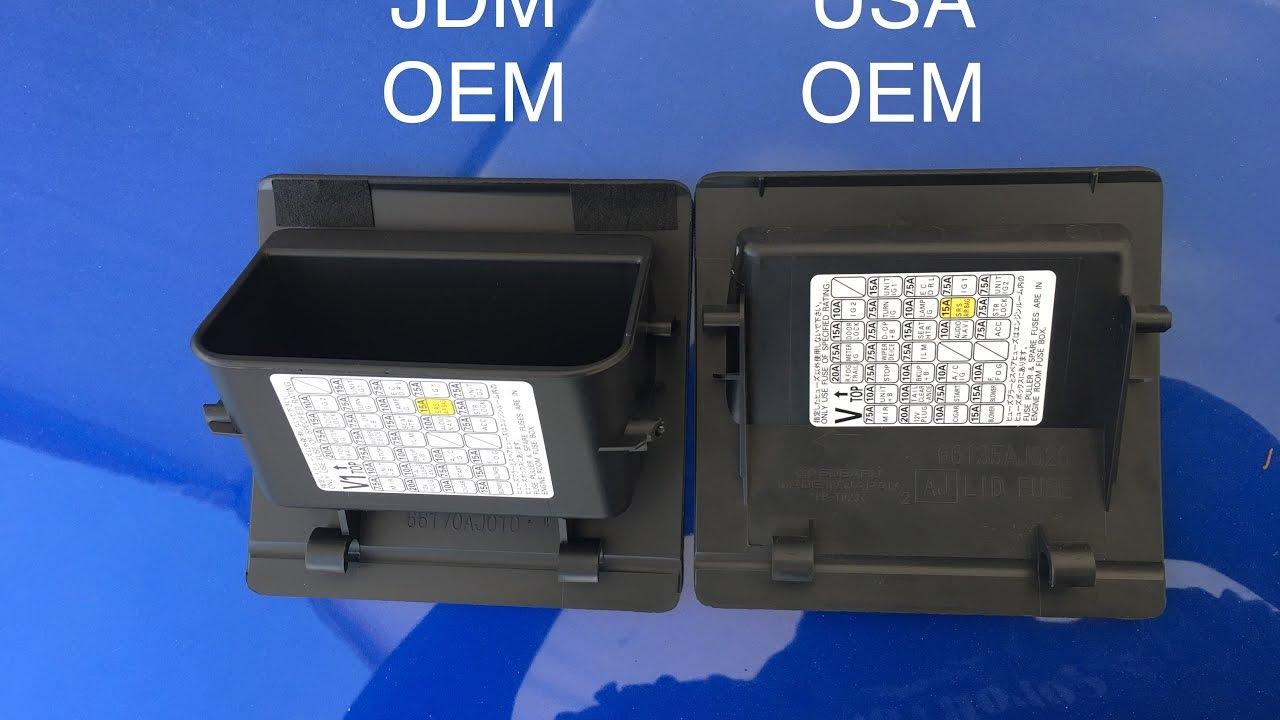 Subaru Wrx Fuse Box Electrical Wiring Diagrams 2015 2017 Coin Assy Youtube