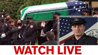 Funeral for NYPD Officer Anastasios Tsakos