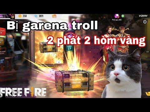 Free Fire | Meow Bị Garena Troll Quay 2 Phát Ra 2 Hòm Vàng | Meow DGame