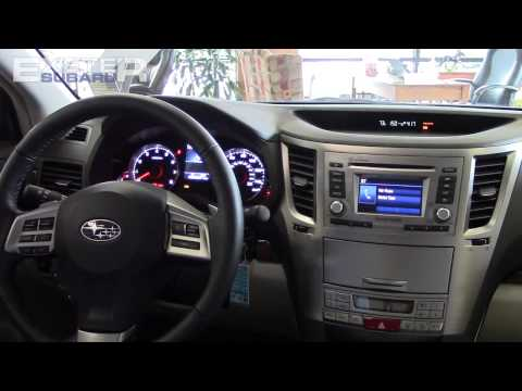 Bluetooth Pairing Demonstration   2014 Subaru Legacy