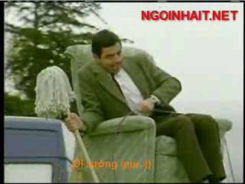 Mr.Bean - Lái xe trên nóc xe hơi + Phụ đề