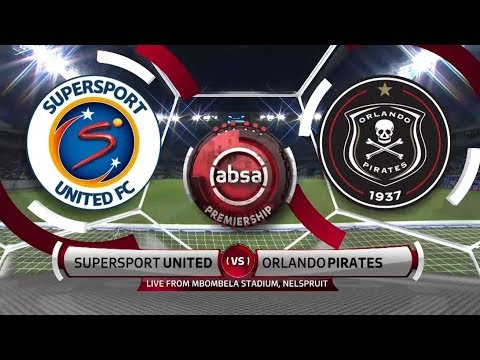 Absa Premiership 2018/19 | SuperSport United vs Orlando Pirates