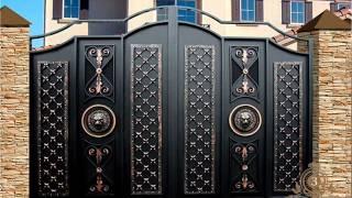 Художественная Ковка - Ворота и калитка (Золотой Узор)(, 2015-07-25T18:39:59.000Z)