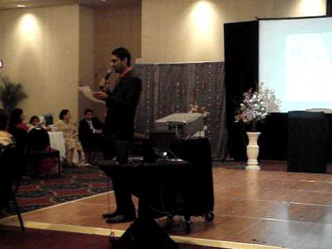 Usman Latif's Best Man Speech at Shahryar and Shahzad Qadri Wedding Reception