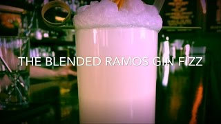 Cocktail Series #1 The Blended Ramos Gin Fizz