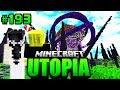 DIE HOCHZEIT war    EIN FEHLER     Minecraft Utopia  193