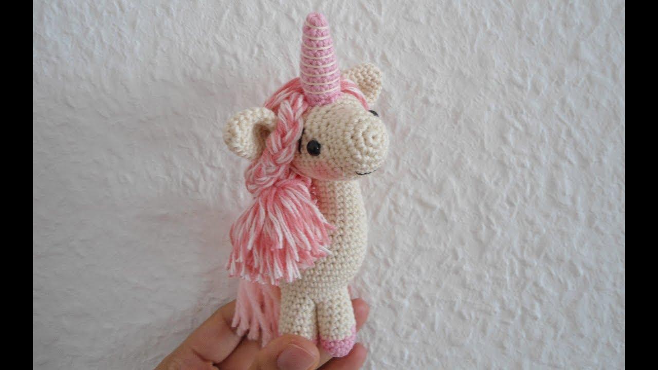 Baby unicorn amigurumi pattern | Haar häkeln, Amigurumi ... | 720x1280