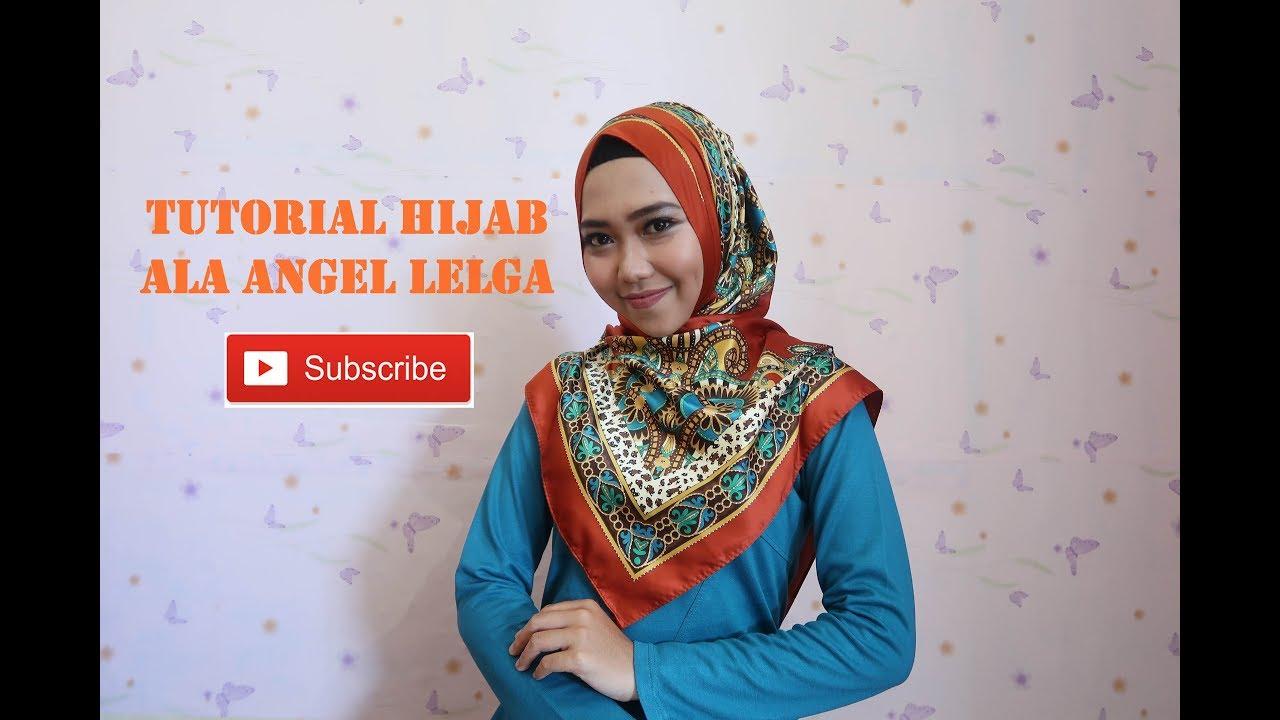 Tutorial Hijab Segi Empat Untuk Wajah Tembem Youtube