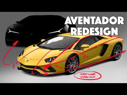 Lamborghini Aventador Re-design – Domesticated?