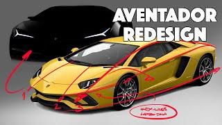 Lamborghini Aventador Re-design - Domesticated?