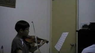 Handel Violin Sonata (Malaysia)