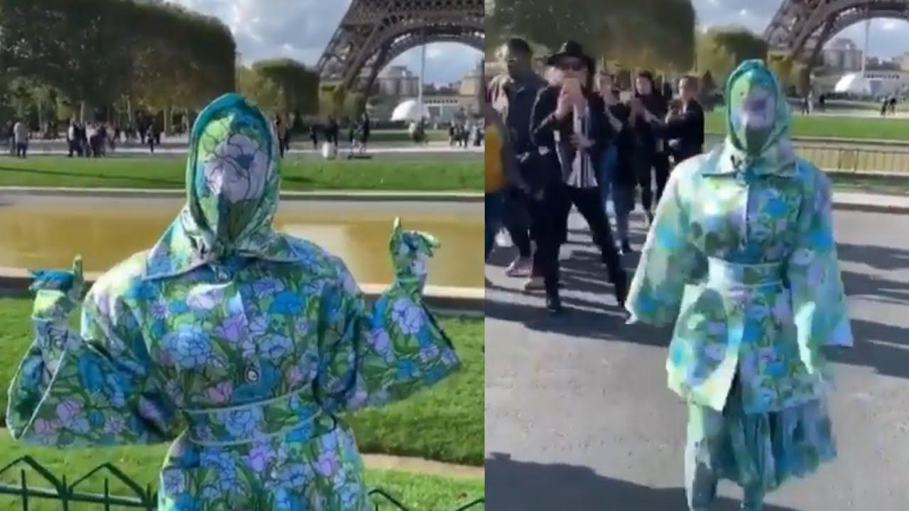 Cardi B Crazy: Cardi B Takes CRAZY Outfit On For Paris Fashion Week