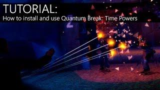 TUTORIAL: How To Use Quantum Break: Time Powers